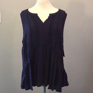 Merona navy blouse